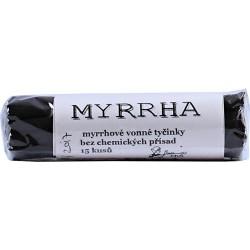 Vonné tyčinky - Myrha 15ks