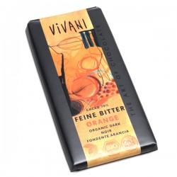 Čokoláda horká pomarančová  100g  BIO Vivani