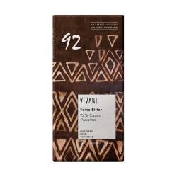 Čokoláda 92% horká  80 g BIO Vivani