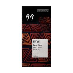 Čokoláda 99% horká  80 g BIO Vivani