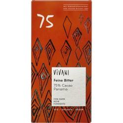 Čokoláda horká s kok.cuk. 75% BIO  Vivani