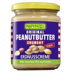 Maslo arašidové Peanut crunchy 250 g Rapunzel