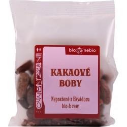 Bôby kakaové celé RAW 100 g BN