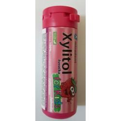 Xylitolové žuvačky pre deti jahoda 30ks