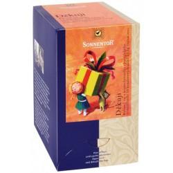 Čaj bylinný Ďakujem porc. 18x1,5g BIO, Sonnentor