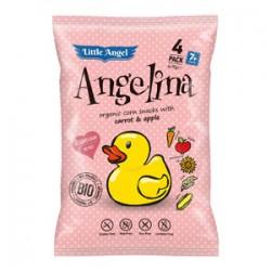 Angelina chrumky mrkva, jablko BIO 60g