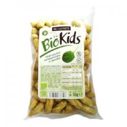 Chrumky kukuričné špenátové BIO 55g