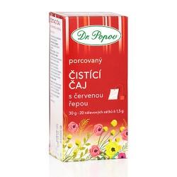 Čaj Čistiaci s červenou repou porc. 30 g Dr.Popov