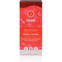 Khadi - rastlinná farba na vlasy ČISTÁ HENNA 100g