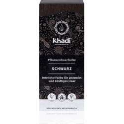 Khadi-rastlinná farba na vlasy  ČIERNA 100g