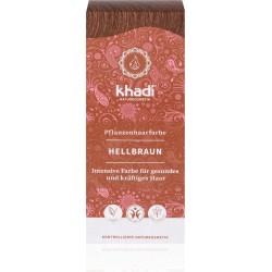 Khadi-rastlinná farba na vlasy SVETLOHNEDÁ 100g