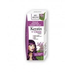 Vlasové stim.masážne sérum Keratin+Chinin 215ml