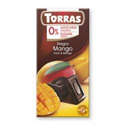 Čokoláda  DIA  horká s mangom  75g  Torras