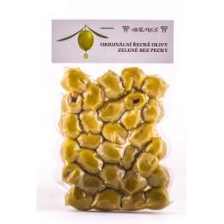Olivy Vacum zelené bez kôstky 140g Hermes