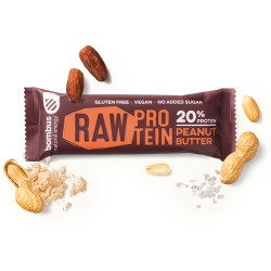 Tyčinka Raw Protein peanut butter 50g Bombus