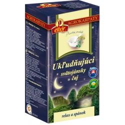 Čaj Ukľudňujúci Svätojánsky 20x2g Elixír Agrokarpa