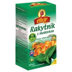 Čaj rakytník s medovkou 20x1,5g Elixír Agroparpaty