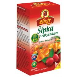 Čaj šípka s rakytníkom BIO Elixír 20x1,5 g Agrokar