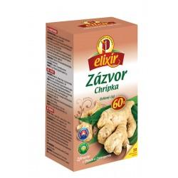 Čaj zázvor proti chrípke 20 x 1,5 g Elixír Agrokar