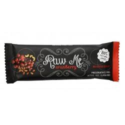 Tyčinka Raw me - brusnica 45g