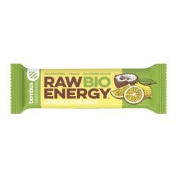Tyčinka Raw Lemon - Coconut  50g BIO  Bombus