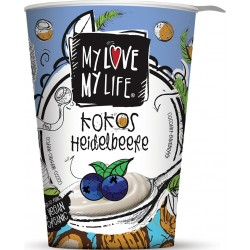 Zakysaný BIO kokosový  jogurt Čučoriedka180g VEGAN