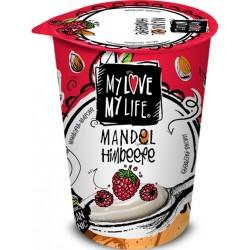 Zakysaný BIO mandľový jogurt Malina 180g VEGAN