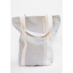 Ľanová nákupná taška 35x40cm