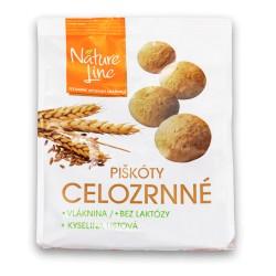 Piškóty celozrnné Naturline 120 g peč. LH