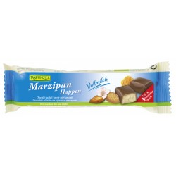 Marcipán v mliečnej čokoláde  BIO 50g, RAPUNZEL