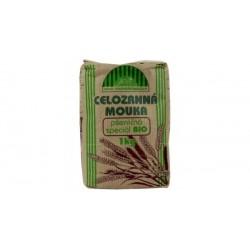 Múka pšeničná celozrnná 1kg  BIO  NJ