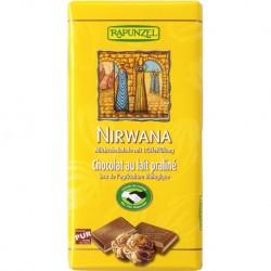 Čokoláda mliečna Nirwana Bio 100g  Rapunzel
