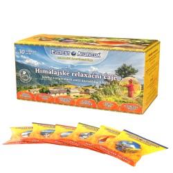Himalájske relaxačné čaje mix  6 druhov - 30x2g