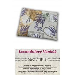 Vankúš  levanduľový Slovakia elixír