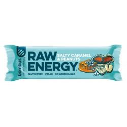 Tyčinka Raw Salty caramel - peanuts  50g