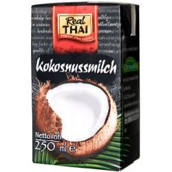 Kokosové mlieko  85%   Real Thai   250ml