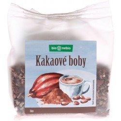 Bôby kakaové drvené  Bio 100g  BN