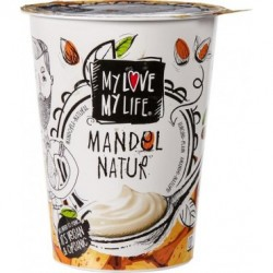 Zakysaný mandlľový jogurt biely  Bio 400g VEGAN
