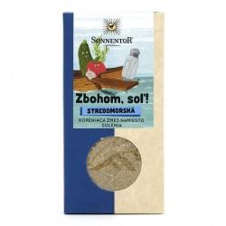 Zbohom, soľ !  stredomorská  Bio  55g  Sonnentor