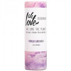 Prírodný  tuhý deodorant  Lovely levander  65g