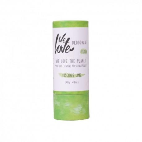 Prírodný  tuhý deodorant Luscious lime  48g