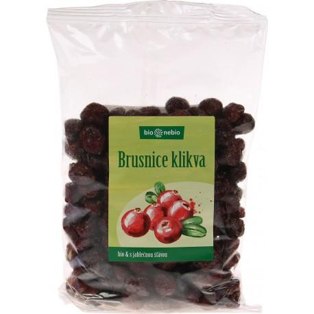 Brusnice kľukva sušená s jablk.šťavou Bio 400g  BN