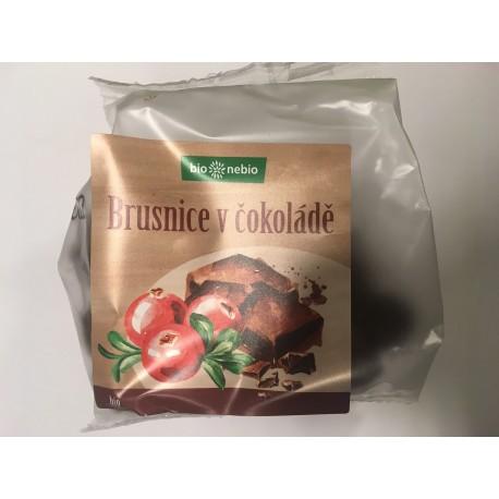Brusnice v horkej čokoláde 100 g Bio  BN
