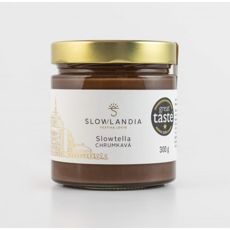 Slowtella chrumkavá - lieskový orech 300g