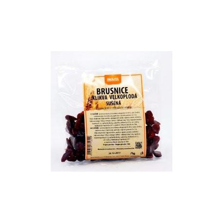 Brusnice sušené 75 g Provita