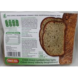 Chlieb Rustikálny Tmavý bzl 235g Provita