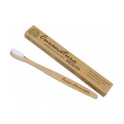 Bambusová kefka - nylonové štetinky HEALTH soft