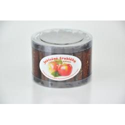 Trubičky jablkové s čokoládou dóza /45ks