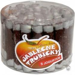 Trubičky jablkové s jogurtom dóza/45ks