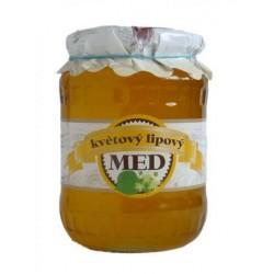Med kvetový lipový 900 g Včelapro
